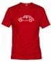 Camiseta Volks. Roja 002