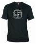 Camiseta Volks. Negra 001