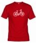 Camiseta Bici Roja 001