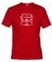 Camiseta Volks. Roja 001