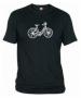 Camiseta Bici Negra 001