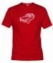 Camiseta Clásico Roja 002