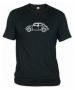 Camiseta Volks. Negra 002
